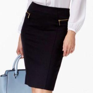 Michael Kors Zipper Pencil Skirt